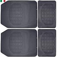 Cenni 25291 Tappeti Auto in Gomma Sagomabili Universali, Set 4 Pezzi, Made in Italy