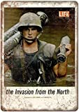 Forry Vietnam War Invasion Metall Poster Retro