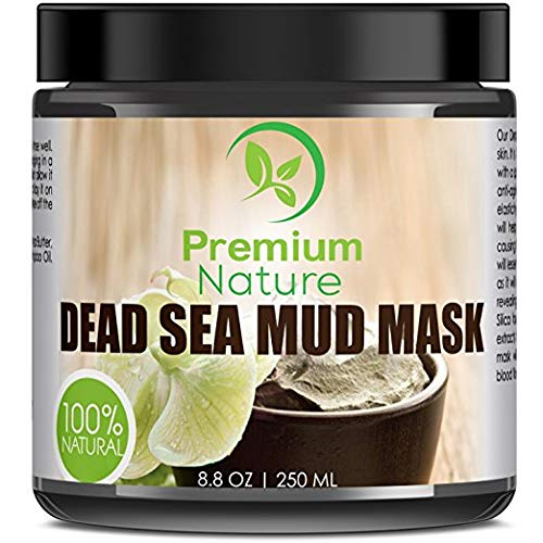 Dead Sea Mud Mask for Face and Body - 8 oz