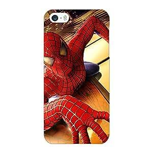 Jugaaduu Superheroes Spiderman Back Cover Case For Apple iPhone 5S