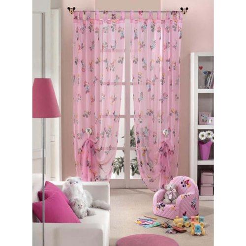 Tenda disney topolino minnie arredo cameretta 140x290 velo col rosa g281