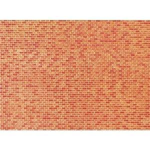 Faller 222568 - Placa de muro de ladrillo importado de Alemania