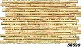 1 PVC Dekorplatte Mosaic Wandverkleidung Platten Wand Paneel 95x48cm, 58599