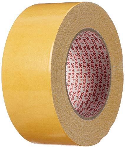3M 9191 Standard Teppichklebeband, 50 mm x 25 m, Weiss (1-er Pack)