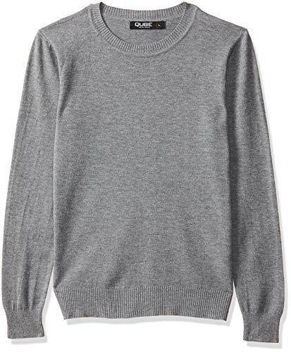 Qube By Fort Collins Women's Sweater (CH101_Grey_L)