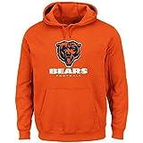 NFL Hoodie/Hoody/Hooded Sweater CHICAGO BEARS Victory VIII orange in M (MEDIUM)