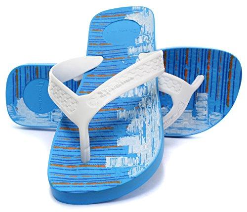 Ipanema Brasil Surf Herren Beach Flip Flops Blue/White