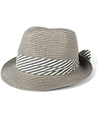 Sombrero al Aire Libre Summer Straw Sombreros de Sol para Mujer para Lady  Beach Trilby Gangste 2ce9b05dd298