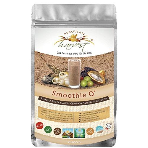 Super Smoothie Mix (UHTCO Peruvian Harvest Smoothie Q | Super Food Mix 200g | Das Beste aus Peru für die Welt)