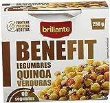 BRILLANTE Benefit legumbres, quinoa y verduras vaso 250 gr