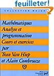 Math�matiques, analyse et programmati...