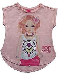 TopModel filles chemise rose, taille 140, 10 ans