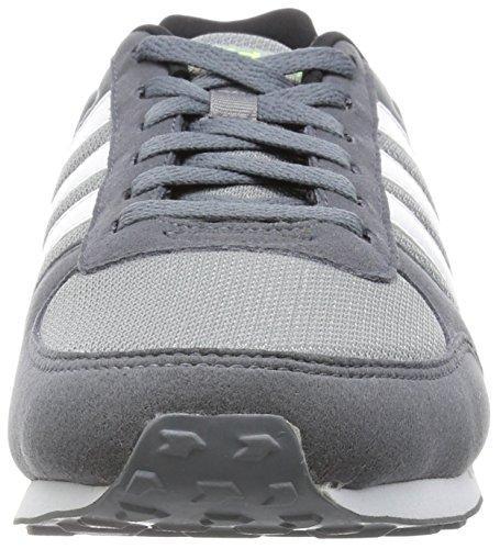 adidas Herren City Racer Turnschuhe, 42 EU Grau (Grey/Ftwr White/Onix)