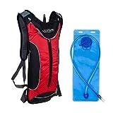 G4Free Mochila Hidratación 10L Mochila +3l Bolsa de Agua para Bicicleta Ciclismo Excursionismo Súper Ligero