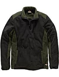 Dickies JW7011 Veste de travail Homme Vert (Olive/Noir) Medium (Taille fabricant: M)