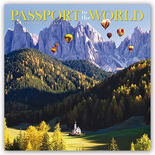 Passport to the World - Eintrittskarte in die Welt 2020 - 16-Monatskalender: Original Graphique de France-Kalender [Mehrsprachig] [Kalender] (Wall-Kalender)
