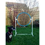 freestanding training hoop for dog agility (due to amazons new postage policy we can only post this item to mainland uk (England, Wales, and Scotland