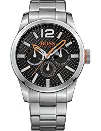 BOSS Orange Herren-Armbanduhr PARIS Multieye Analog Quarz Edelstahl 1513238