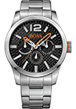 Hugo Boss Orange Paris Herren-Armbanduhr Quartz mit  Edelstahl Armband1513238