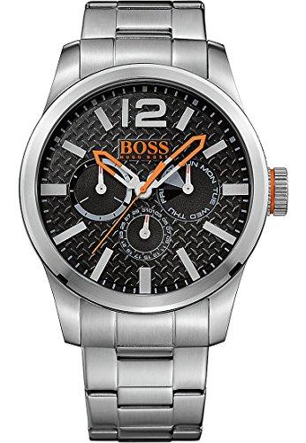 Hugo Boss Orange 1513238 - Reloj de pulsera analógico para hombre (correa de acero inoxidable, esfera con subdiales)