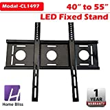 Home Bliss LED LCD TV Plasma Wall Mount Bracket Fixed Stand 40 42 46 50 52 55
