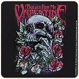 Bullet For My Valentine Skull Red Eyes Drinks Coaster Fan Gift Band Album Design