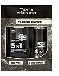 L'Oreal Men Expert Carbon Power 2 Piece Christmas Gift Set For Him