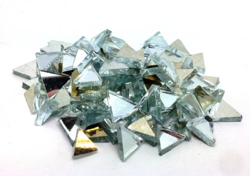 Hobby Island Professional Triangular Mirror Tiles, 8 mm, 250 piece metric set