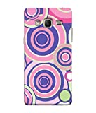 PrintVisa Designer Back Case Cover for Samsung Galaxy Z3 Tizen :: Samsung Z3 Corporate Edition (Abstract Art Artistic Colorful Backdrop Blue Beautiful Childish)