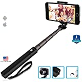 #3: MobiQuick High End Bluetooth Monopod Selfie Stick Compatible with Xiaomi Mi, Apple iPhone & iPad, Samsung, Sony, Lenovo, Oppo, Vivo and All Smartphones