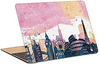 "Postergully 15.6"" Laptop Skin - Wonders of The World Cityscapes"
