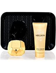 Paco Rabanne P0904020 Lady Million Kit Eau de Parfum + Lotion Corporelle 150 ml