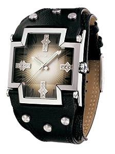 """Reloj de mujer Police """"Glory Small"""" P11598MS-02 de cuarzo, correa de piel color negro de Police"""