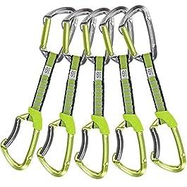 Climbing Technology Lime 2E661DZC0LCTST1 Rinvio, Verde/Grigio, 12 cm