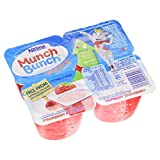 Nestle Munch Bunch double Up Fromage Frais Strawberry/Raspberry 4x85g