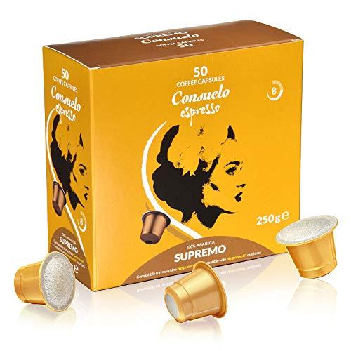 Consuelo - capsules de café compatibles Nespresso* - Supremo, 50 capsules