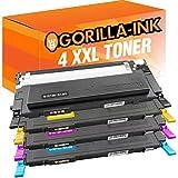 Gorilla-Ink® 4 Toner XXL kompatibel für Samsung CLT-4072S CLP-320 N CLX 3185 W