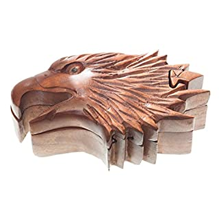 Eagle–Arcan (Jewellery Box Made of Wood) Magic Box/Wooden Jewellery Box | Gift Box | Photo Frame Eagle, German Reich