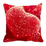meSleep Red Valentine Cushion (With Filler)