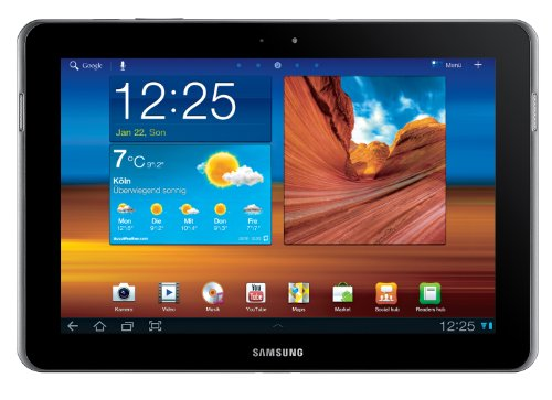 Samsung Galaxy Tab 10.1N WiFi P7511 Tablet (25,7 cm (10.1 Zoll) Touchscreen, 32 GB Speicher, Wifi-only, Android Betriebssystem) soft-black