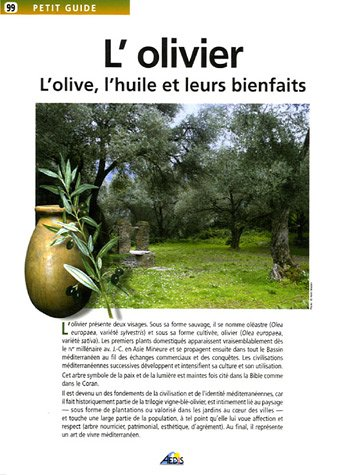 L'olivier : L'olive, l'huile et leurs bienfaits