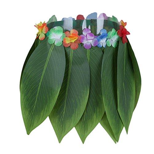 Chinget 1 stücke Hawaiian Blätter Gras Röcke Kostüme Tropical Beach Party Dekorationen Karneval Party - Gras Rock Kostüm