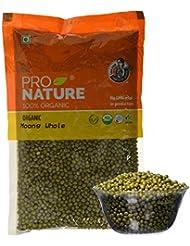 Pro Nature 100% Organic Moong Green Whole, 500g