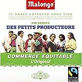 Malongo - Dosettes de café pur arabica, culture des petits producteurs - Le paquet de 75g - Prix Unitaire - Livraison Gratuit Sous 3 Jours