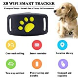 Chengstore Mini Pet GPS Tracker,Smart Anti-Lost Bluetooth 4.0 Real-time Tracking Device Dogs Cats