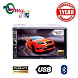 #6: myTVS TAV-40 Double Din HD Touch Screen Car Stereo Media Player with USB/MP5/MP3/Bluetooth (1 Year Warranty)