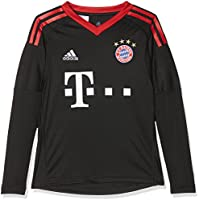 adidas Kinder FC Bayern Torwart Heim Langarm-Trikot