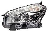 HELLA 1EL 010 335-061 Halogen Hauptscheinwerfer, Rechts, Ohne Kurvenlicht, mit Glühlampen, mit Stellmotor für LWR