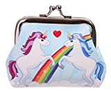 Clasp Wallet Magical Unicorn Coin Pinch Purse