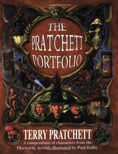 The Pratchett Portfolio: A Compendium of Discworld Characters (GOLLANCZ S.F.) by Paul Kidby (Illustrator) (Illustrated, 1996) Paperback